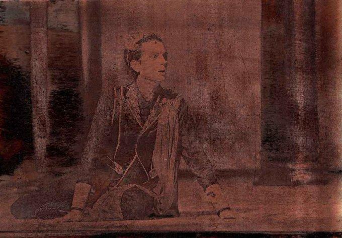 Atys (Juan Sancho), 2/9, Kupfer geätzt, Tiefdruckfarbe, 8,0 x 11,5  cm, 2015
