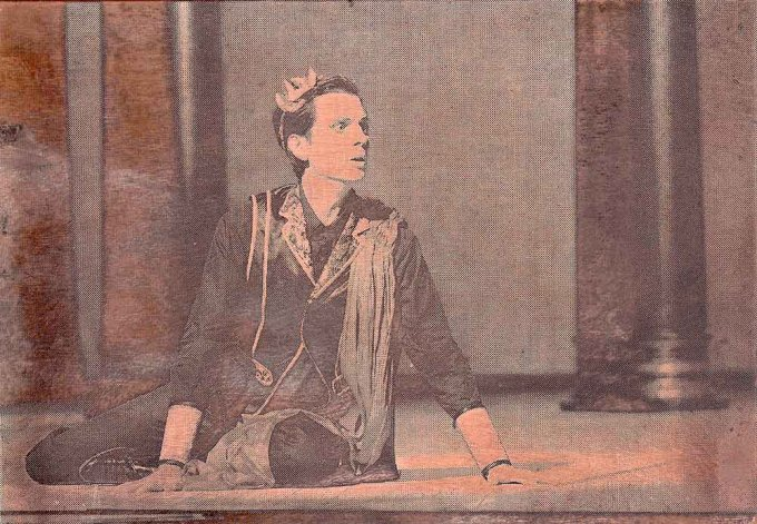 Atys (Juan Sancho), 5/9, Kupfer geätzt, Tiefdruckfarbe, 8,0 x 11,5  cm, 2015