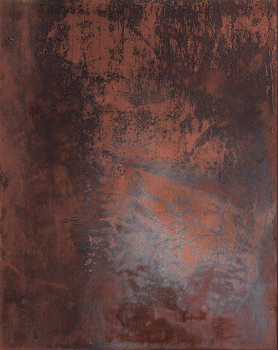 o.T. (Jordan III), 2015, Kupfer geätzt, Druckfarbe, 17 x 13,5 cm