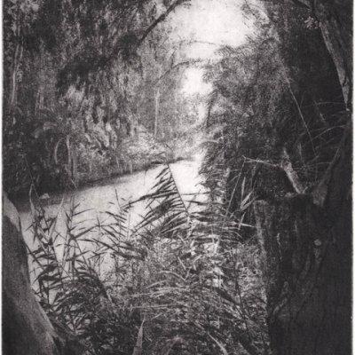 o.T. (Jordan I), 2015, Photoradierung, 15,8 x 11,8 cm