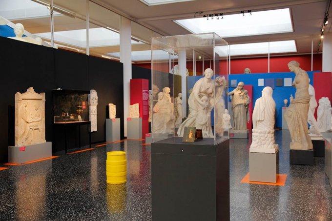 Ausstellungsansicht Skulpturhalle Basel